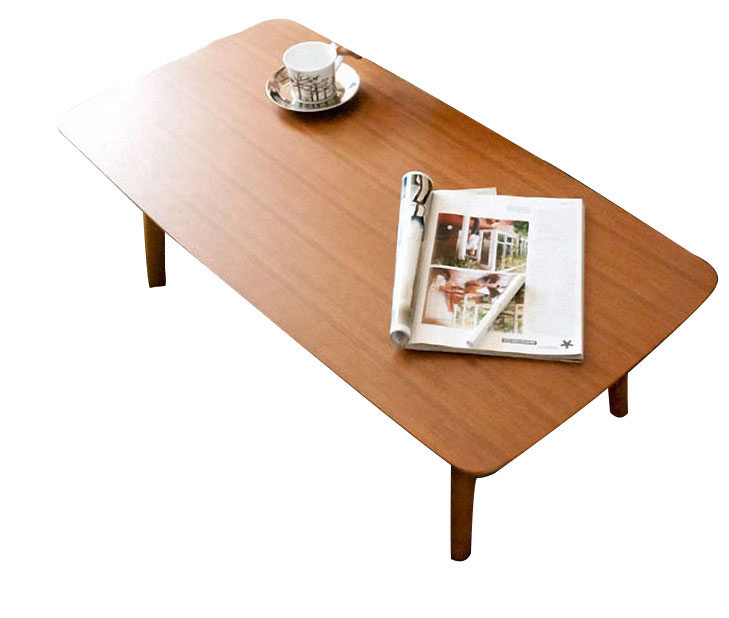 Mesa de centro plegable de madera retro simple